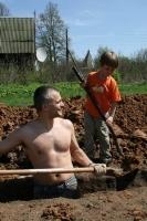 Работа волонтёром