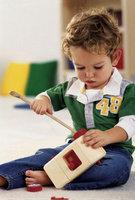 Как научить ребенка играть