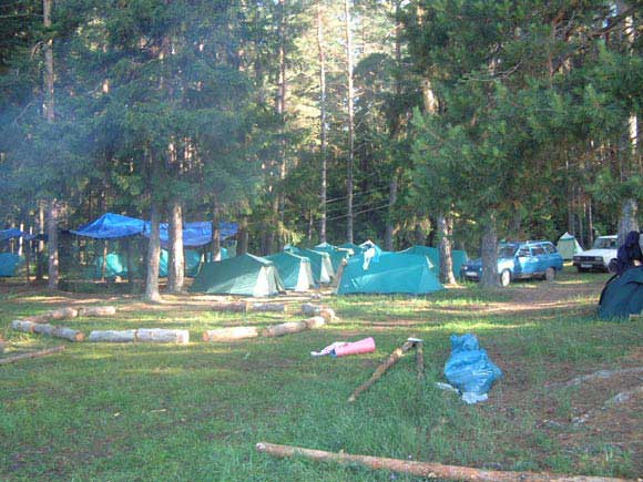 Вид на синтоновский лагерь