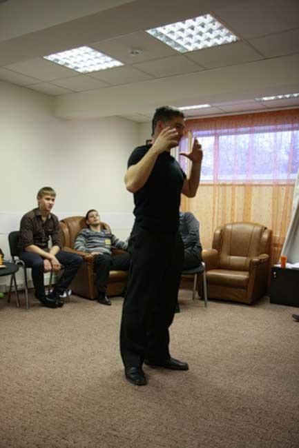 Когда я в прошлый раз пришёл на тренинг к Виталию Пичугину, у него была вот такая борода