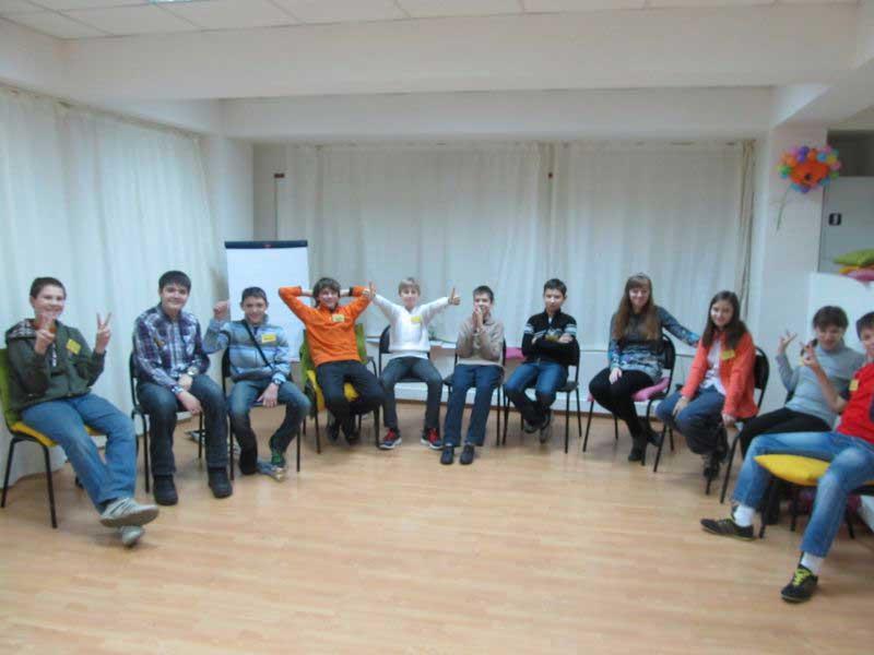 Старшая подростковая группа (14-16 лет)