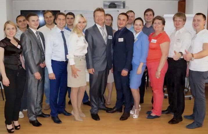 Победители с Дмитрием Устиновым (июль 2014)