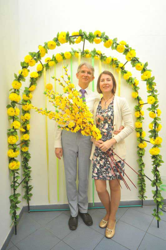 Николай Иванович Козлов и Марина Смирнова