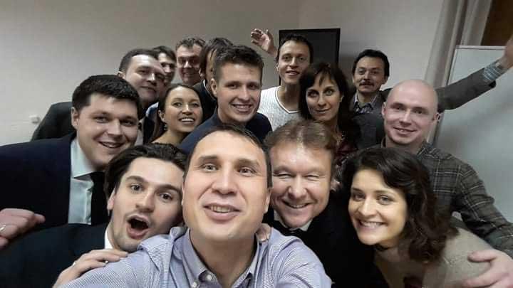 Ораторское мастерство с Дмитрием Устиновым (март 2015)