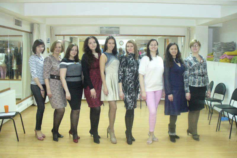 Искусство дефиле с Евгенией Стешовой (март 2015)