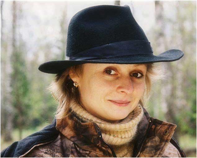 Светлана в шляпе