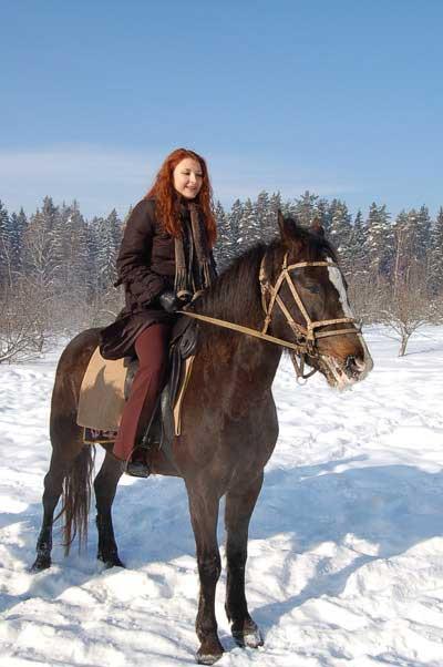 Выйду в поле с конём