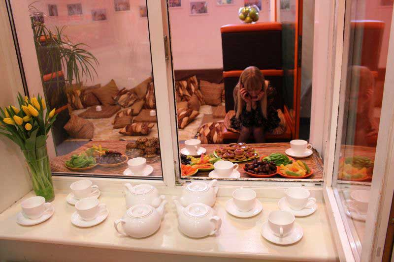 Алё! Алё! Чай готов! Приходите, я вас жду.