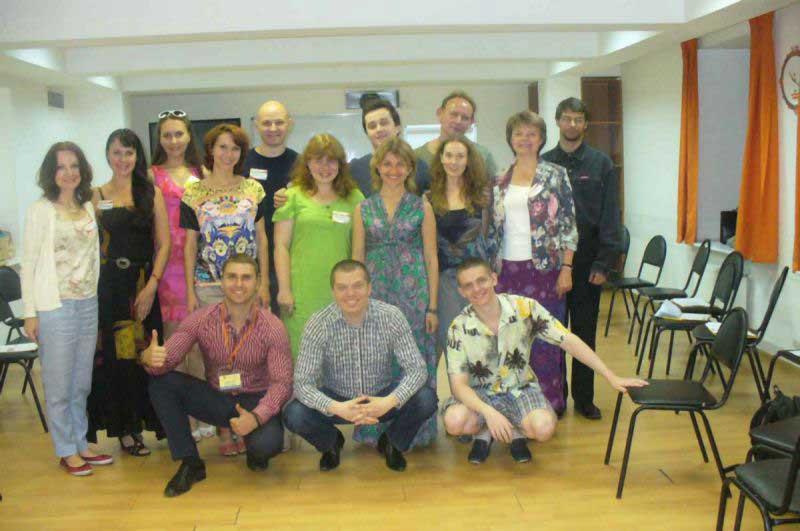 Базовый тренинг с Денисом Швецовым (август 2014)