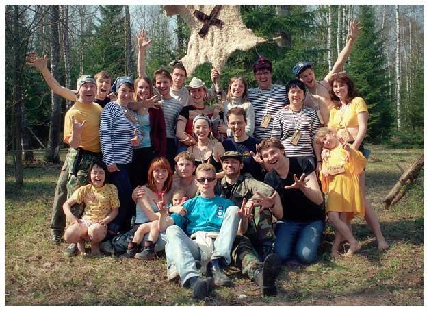 Команда Хомяков на ВВС 2004