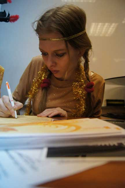 А вы знаете, что Покахонтас была гениальной художницей?