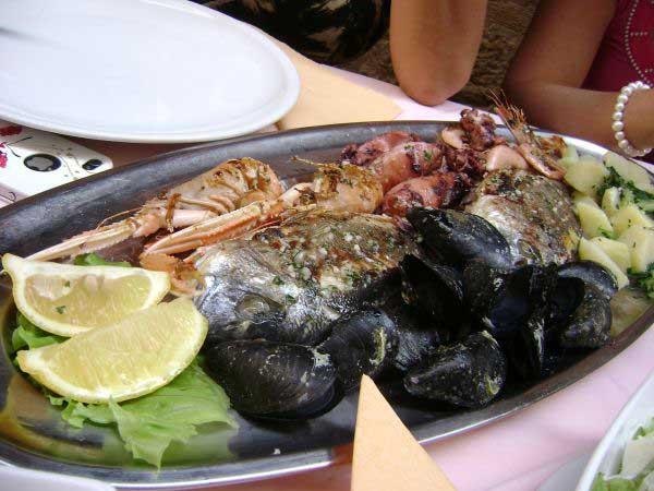 Очень морские продукты.