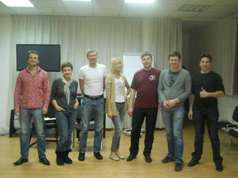 Актёрский тренинг (декабрь 2011)