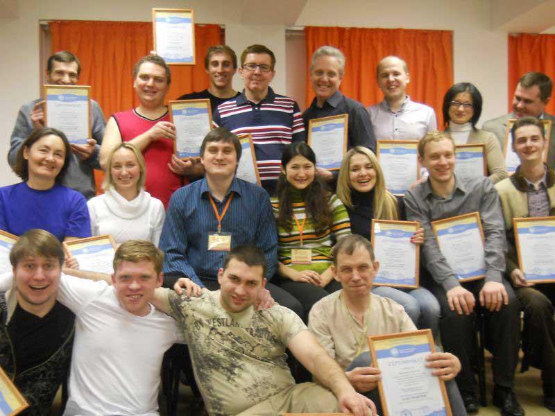 НЛП-практик с В. Виноградовым(январь 2012)