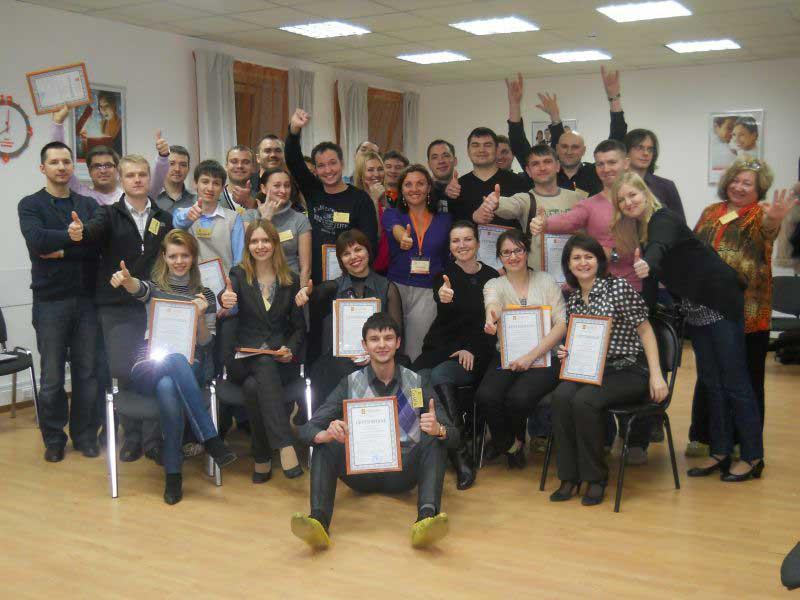 Тренинг тренеров: технология ведения групп (февраль 2012)