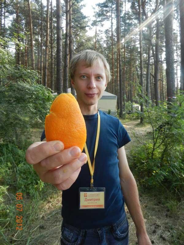 Мы делили апельсин... Делили все, а ел один.