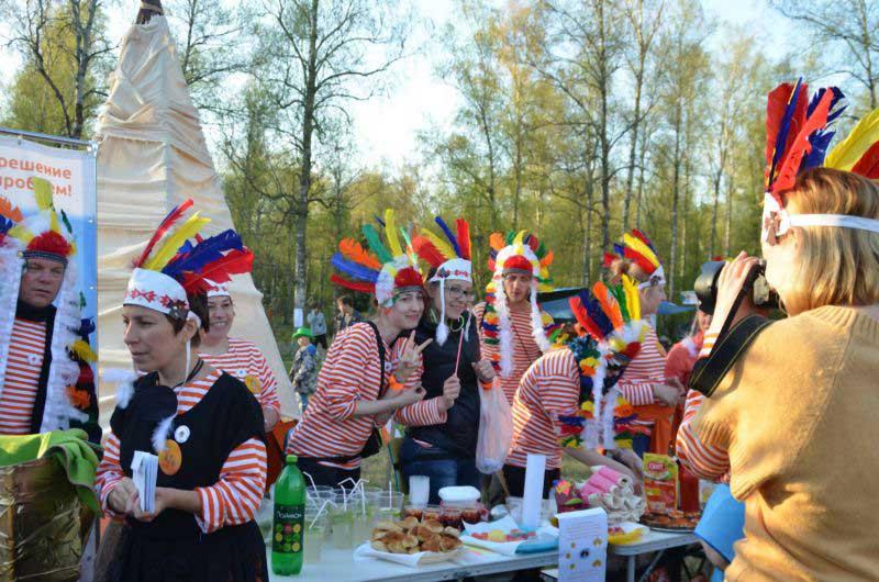 Индейская ярмарка - самая яркая ярмарка в мире.