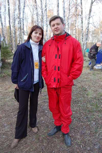 Виталий Пичугин и Юлия