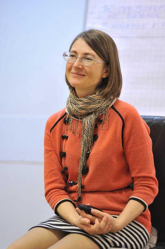 Марина Смирнова - счастливая мама и опытный тренер.
