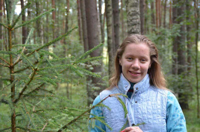 Кудесница леса.