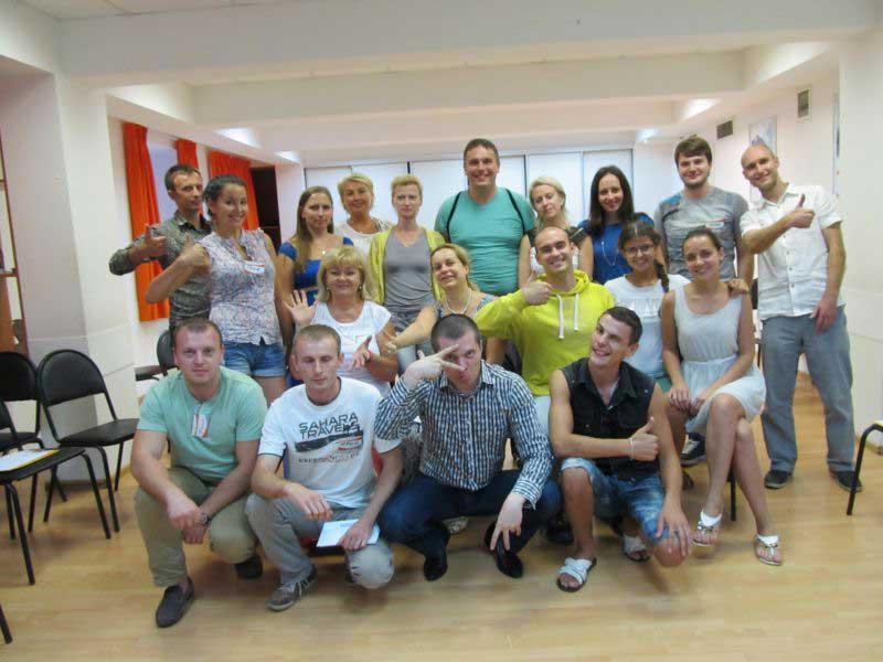 Базовый тренинг с Денисом Швецовым (август 2013)