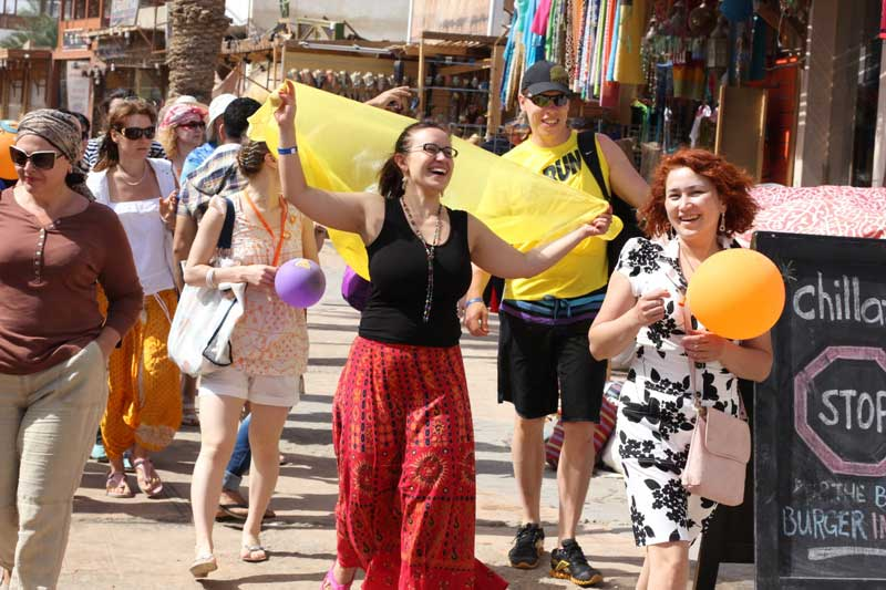 Яркая прогулка по египетскому базару.