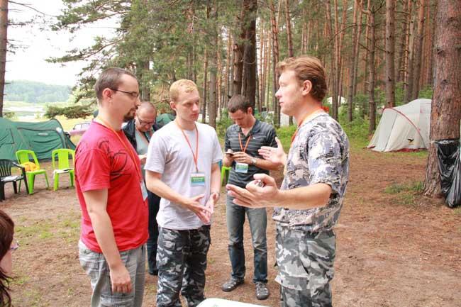 Участники использовали любую возможность для обучения.