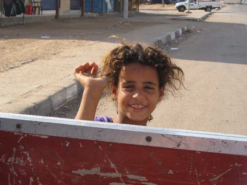 Бедуинские дети - современные маугли.