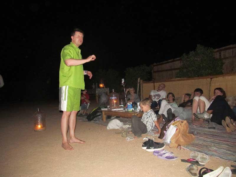 Мастер-класс в пустыне от Виталия Пичугина.