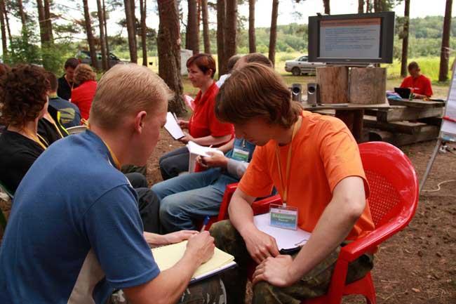 Обсуждение - одна из важнейших форм взаимодействия успешных людей.