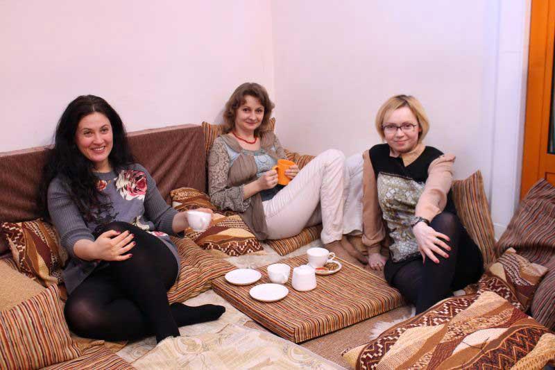 А вы пили чай со Светланой Бородиной?