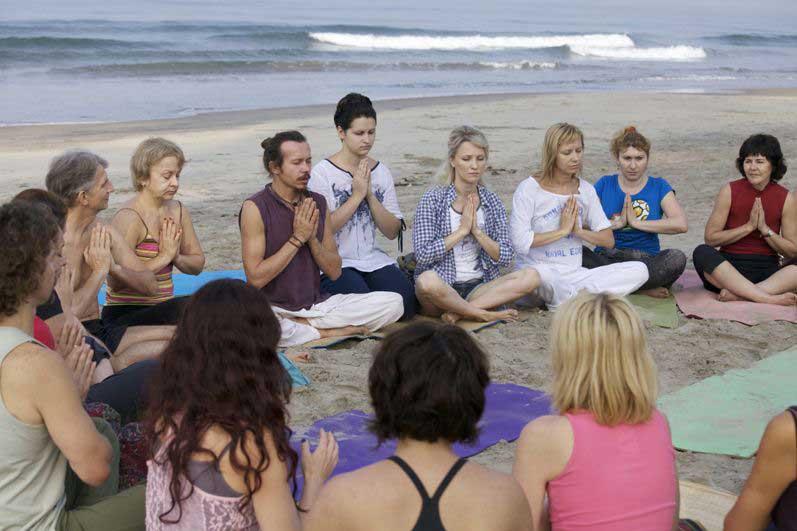 Коллективная медитация.