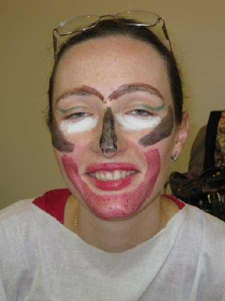 Ой, как мне такой макияж нравится!..