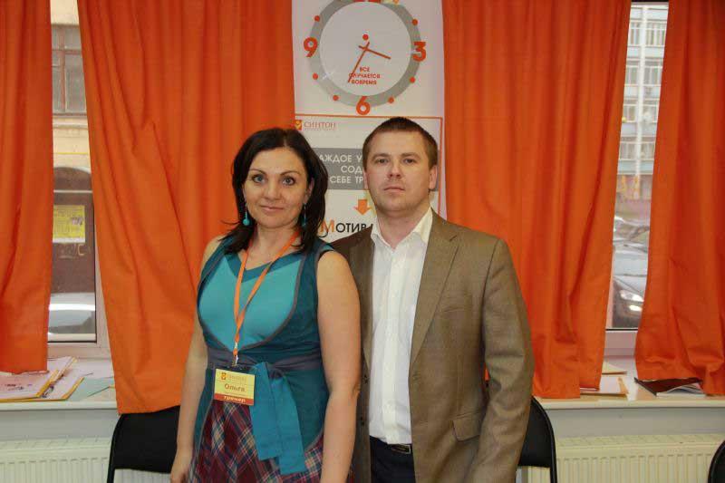 Фото с главным тренером на память.