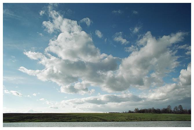Облако и деревня Морозово