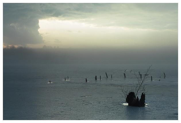 Туман и озеро (девятая)