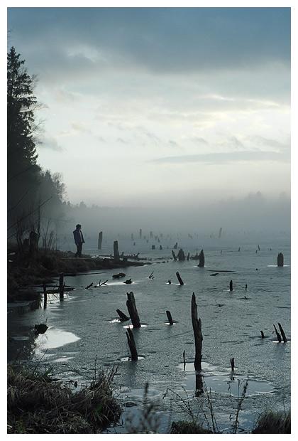 Туман и озеро (восьмая)