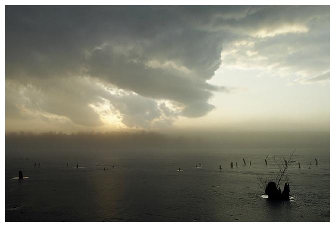 Туман и озеро (седьмая)