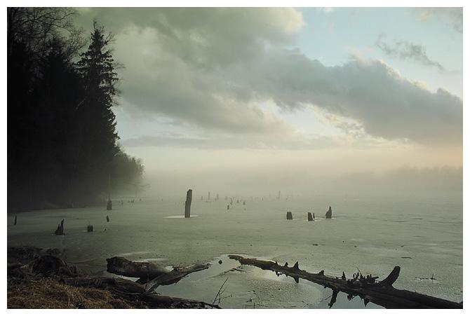 Туман и озеро (пятая, лучшая)