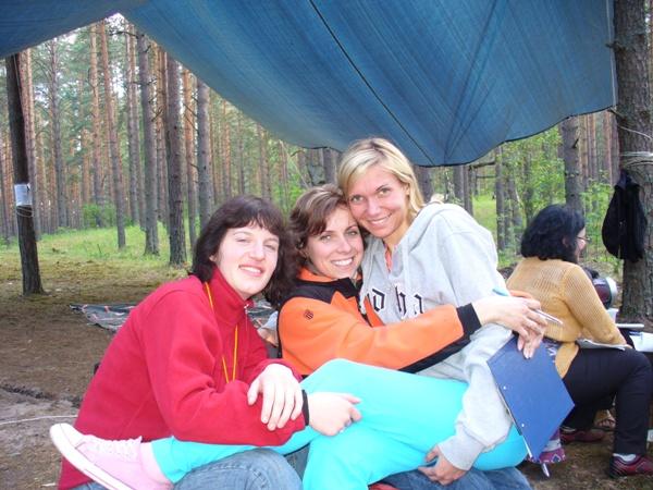Маша, Оля и Арина