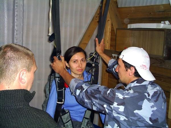 Тренировка в подвесной системе