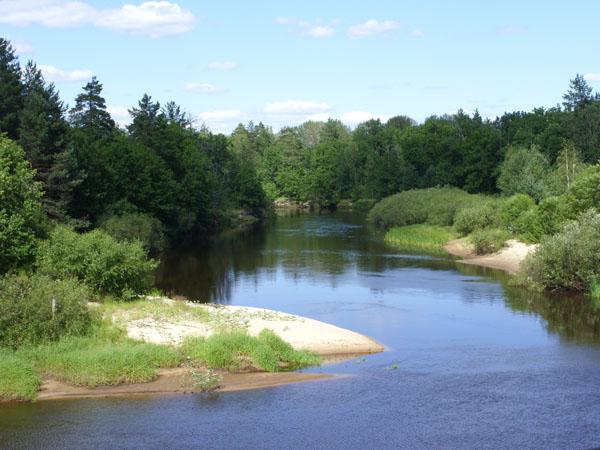 Вид на реку Пра