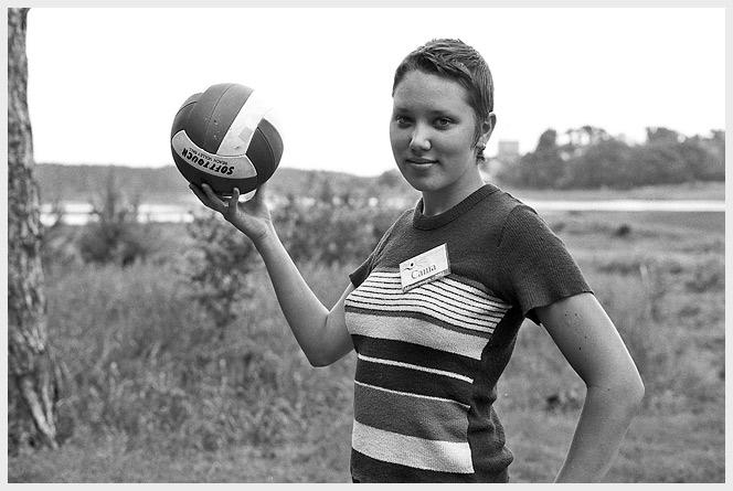Сашка с мячом