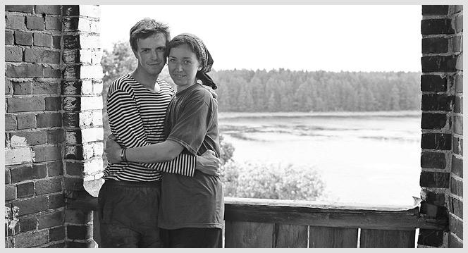 Виктор и Дина на колокольне