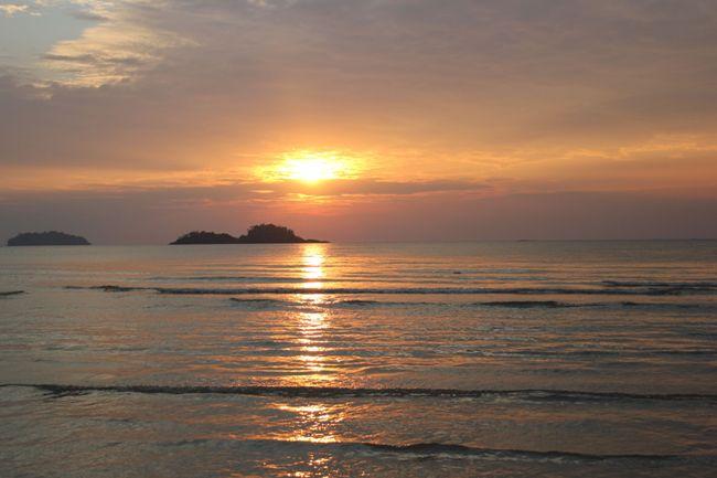 Тайский закат сулил много сюрпризов.