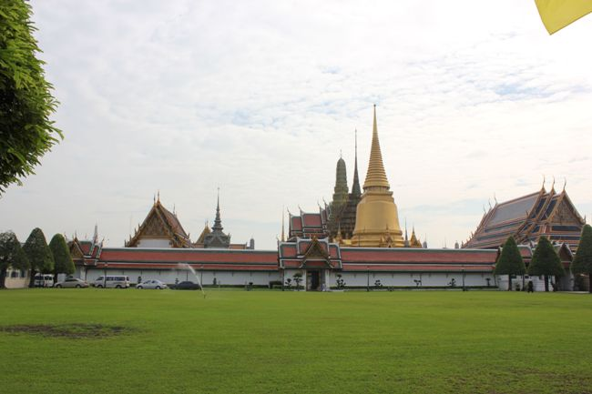 Типичная тайская деревенька.