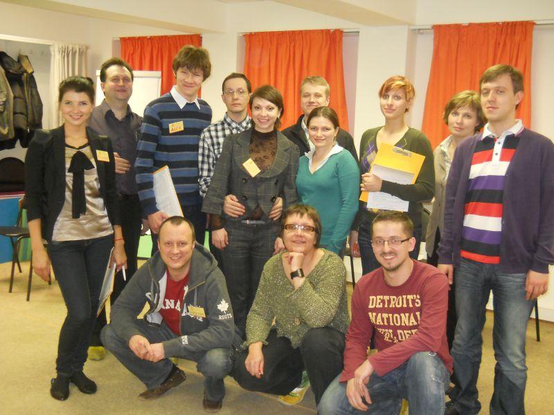 Английский язык: снятие языкового барьера (март 2012)